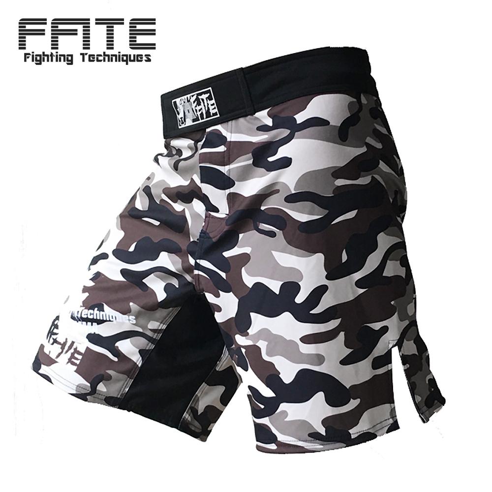 MMA shorts kick boxing muay thai shorts trunks mma cheap shorts camo muay thai sanda boxe fight wear yokkao bermuda mma(China (Mainland))