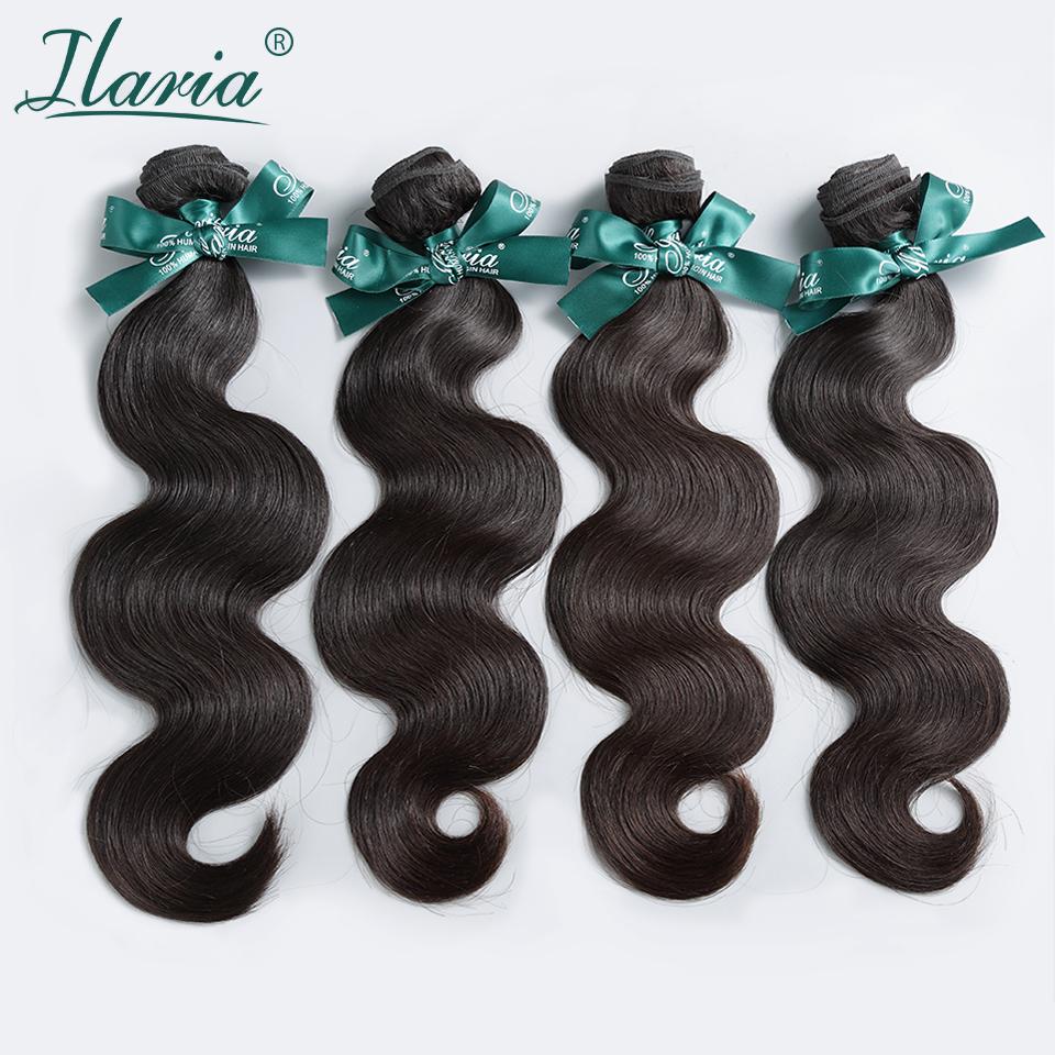 Top Grade 8A Rosa Hair Products Brazilian Virgin Hair Body Wave 100% Brazilian Human Hair Weft 4Pcs/Lot Brazilian Body Wave(China (Mainland))