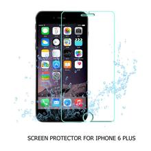 Wholesale Price 500pcs 2.5D 9H 0.3mm tempered glass screen protector for iPhone 6 plus 6s plus 5.5inch explosion-proof membrane