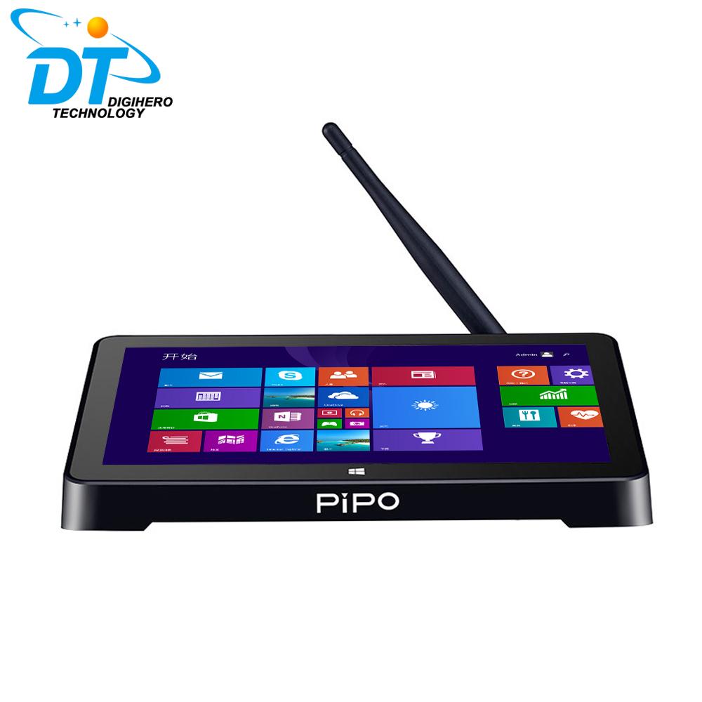 "Pipo X8 Mini PC Windows 8.1 & Android 4.4 Intel Z3736F Dual OS mini Computer 7"" Screen Quad Core 2G 64G HDMI LAN BT4.0 TV Box(China (Mainland))"