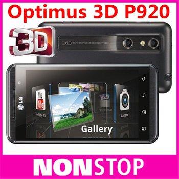 P920 Original LG Optimus 3D P920 Cell Phone GPS WIFI 3G 5MP Unlocked Smartphone in stock