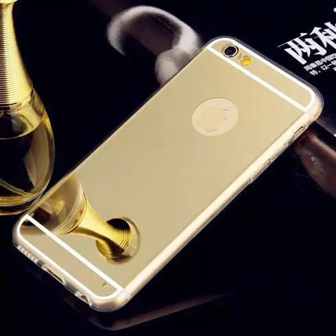 2017 High Quality Soft TPU Fundas For Apple iphone 5 5s Case Electroplating Mirror Cover Luxury For iphone SE Mobile Phone Bags(China (Mainland))