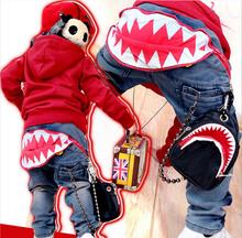 2015 new children jeans pants winter autumn boys trousers kids denim pants100% cotton je