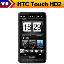 11.11 Sale T8585 Original HTC Touch HD2 T8585 HTC Leo 100 GPS WIFI 3G 5MP 4.3''TouchScreen Unlocked Cell Phone(China (Mainland))