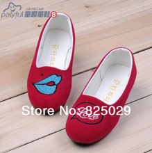 New arrival 2014 child spring male female child single shoes performance shoes casual princess shoes loafers gommini duck shoes(China (Mainland))