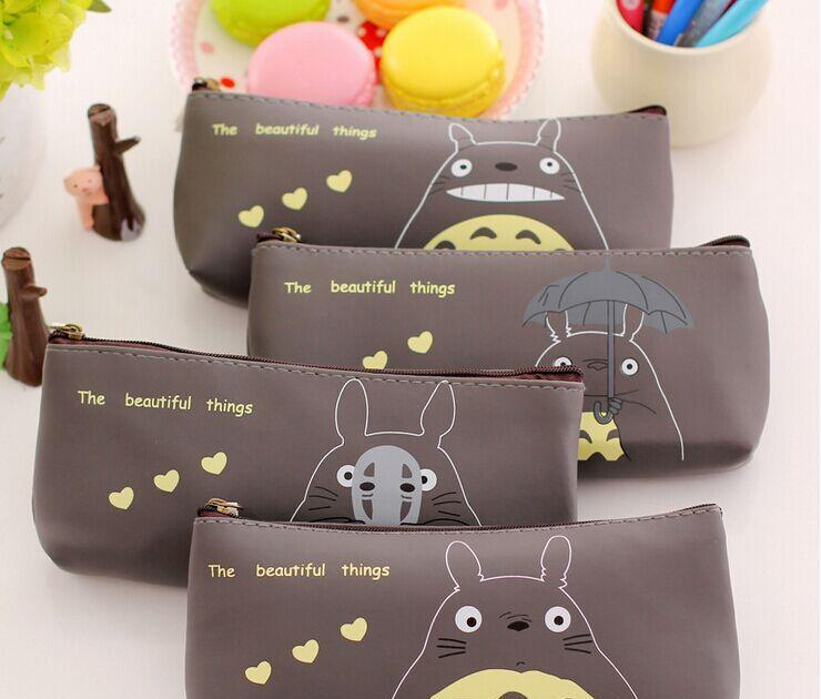 New! Kawaii Pencil Cases PU Material School Supplies BTS Stationery Gift Estuches School Cute Pencil Box For School(China (Mainland))