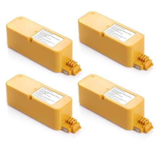 4x 14.4V 3500mAh Ni-MH Vaccum Cleaner Battery For iRobot Roomba 400 series(China (Mainland))