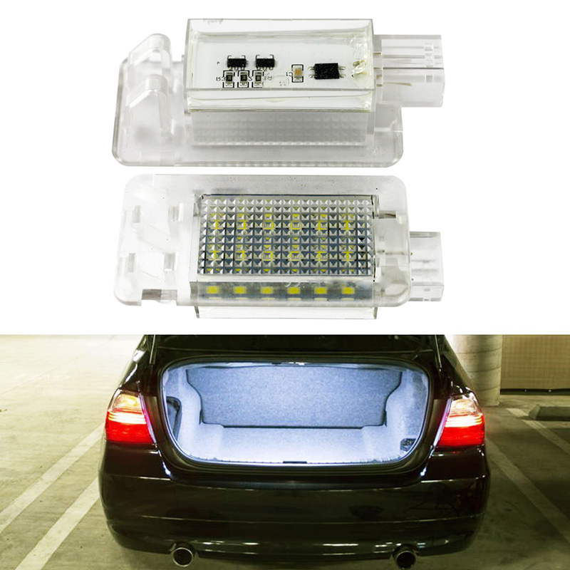 Pcs Ultra White Led Lamp Led Luggage Compartment Light Car Styling For Volvo Xc S S on Volvo C70 License Plate Light