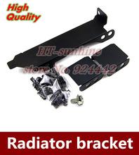 Brand new  1PCS  Graphics partner bracket  PCI general  8cm 9cm fan radiator  bracket with screw