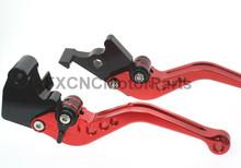 Buy Short Regular CNC Brake Clutch Levers Honda VFR800/F VF750S SABRE VFR750 VTR1000F / FIRESTORM CBF1000 X4 RED for $22.99 in AliExpress store