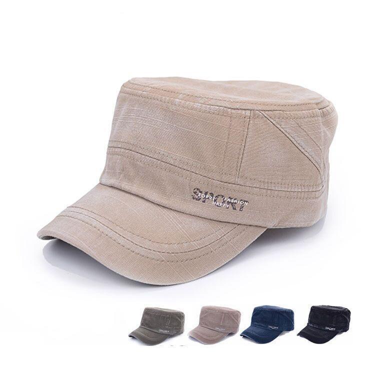 2015 Promotional 5Colors Unisex Fashionable Men Women Baseball Caps Sun Visor Army Flat Top hats Military Soldier Hat Sport Cap(China (Mainland))