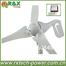 600W max wind generator, 3 blades wind turbine generator, CE&ROHS approval wind power generator+wind controller.(China (Mainland))