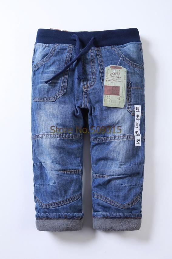 Wholesale jeans kids boys kids jeans warm winter pants boy/girls jeans pants brand jeans boy sweat pants double fleece jeans<br><br>Aliexpress