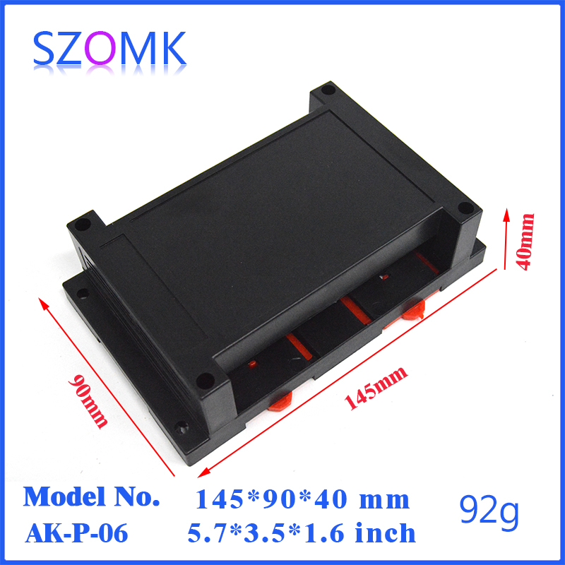 enclosure for electronics (4 pcs) 145*90*40mm electronic project box for diy case instrument housing case control box <br><br>Aliexpress