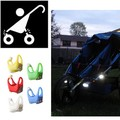 5pcs lot Hot Baby Stroller light Waterproof Flash LED Outdoor night remind lights Security Alert Baby