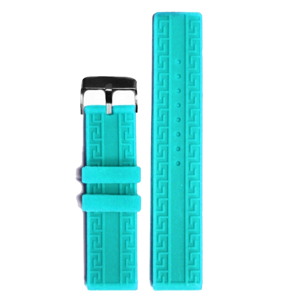 20mm Day Sky Blue Silicone Jelly Rubber Unisex Watch Band Straps WB1064O20JB(China (Mainland))