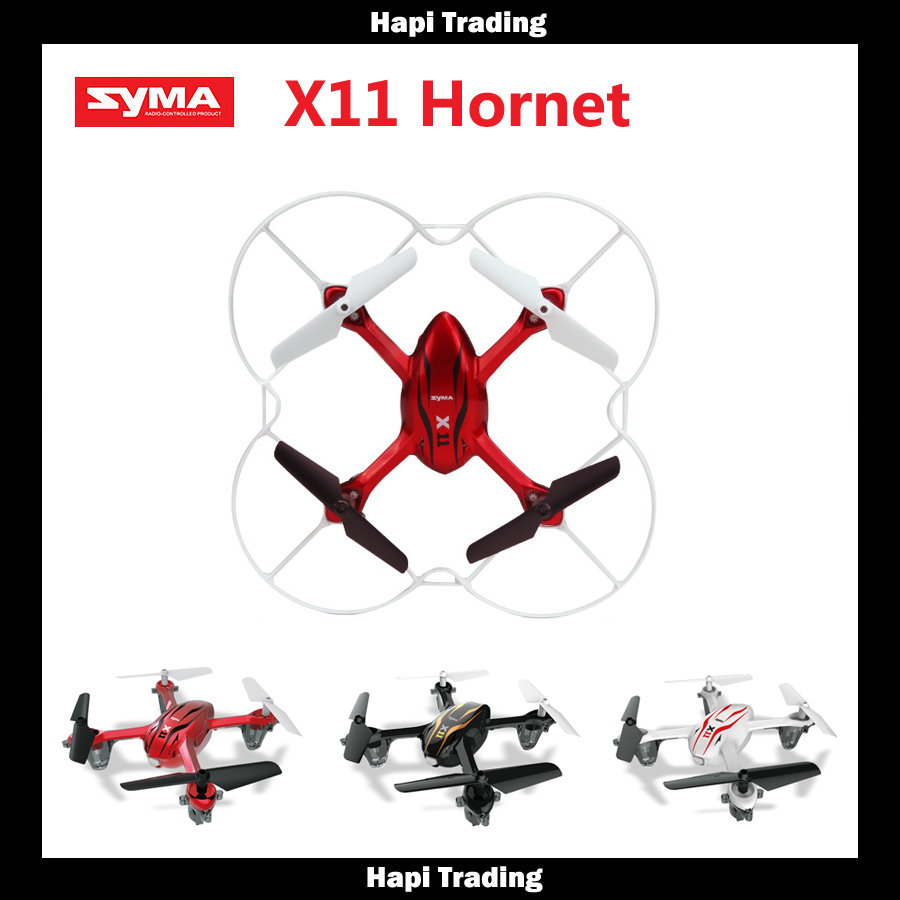 Original Syma X11 GYRO 2.4G 4CH 4-Axis Mini RC Helicopter Radio Control UFO Quadcopter Quad Copter RTF with Tracking Number(China (Mainland))