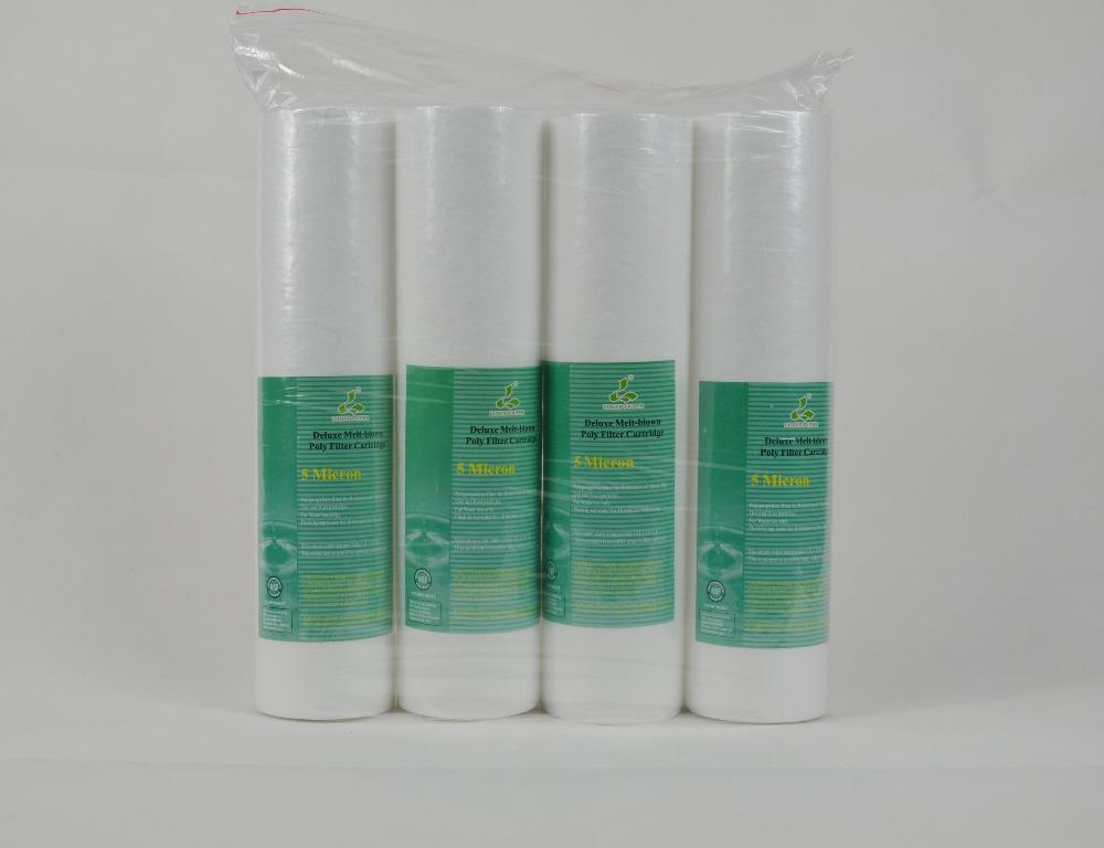 5/micras cartuchos de toda la casa 4 20/x 2.5 sedimentos filtro de agua