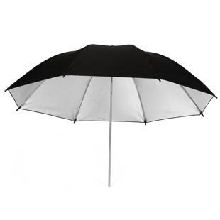 14103TW Meking Photo Studio Flash Set Photography Lighting Umbrella 83cm 33 Silver Black 2 in1 kit