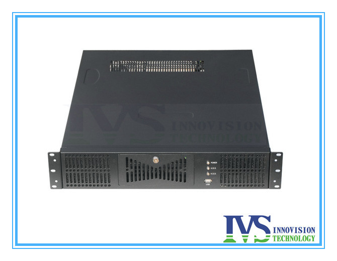"Stable 19"" 2U rackmount case RC2630A-2 supports MAX 12""*13"" ATX M/B with Three paralle expansional slots for full-height Card(China (Mainland))"