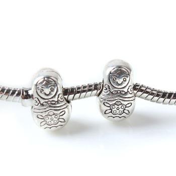 Matryoshka Doll Bead / Charm