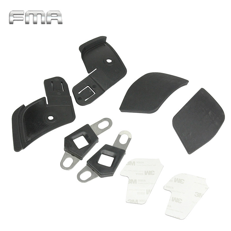 FMA Airsoft Tactical Helmet Side Covers FOR CP Helmet Rail Airsoft Military Helmet Accessories Ear Protection Helmet Attachment(China (Mainland))