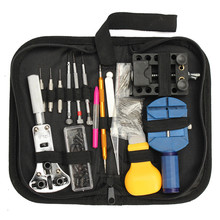 Top Quality Lowest Price 144Pcs Watch Repair Tool Kit Case Opener Link Remover Spring Bar & Carrying Case(China (Mainland))