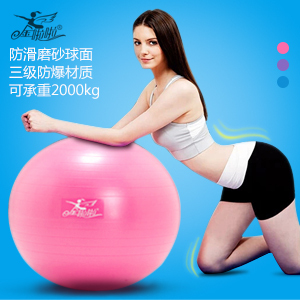 1PCS Jinlala Fitness Ball Explosion-proof Exercise Ball Health Balance gym Yoga Ball 75cm Free Shipping(China (Mainland))