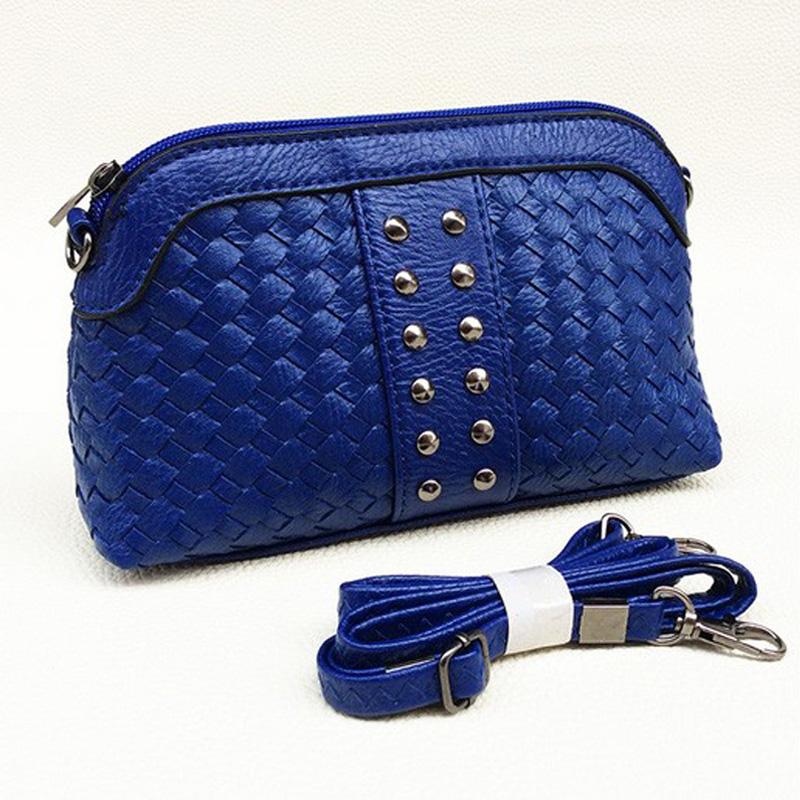 New Year Gift Fashion Women Mini Bag Rivet Leather Messenger Bags Trendy Handbags Spain Summer Syle Crossbody Bag Bolsas Dollar(China (Mainland))