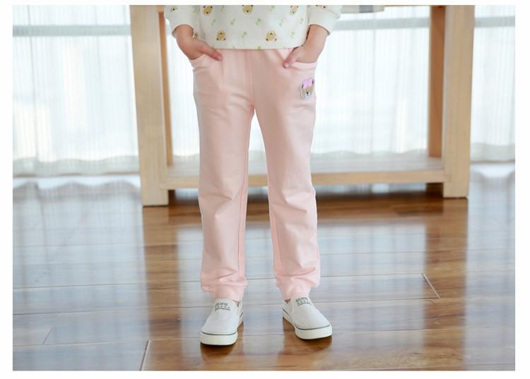 Скидки на 2016 Свадебные Платья menina медведь осень повседневные брюки девушки хлопок брюки детская одежда одежда для девочек детская одежда 3 4 5 6 8 9 10 года