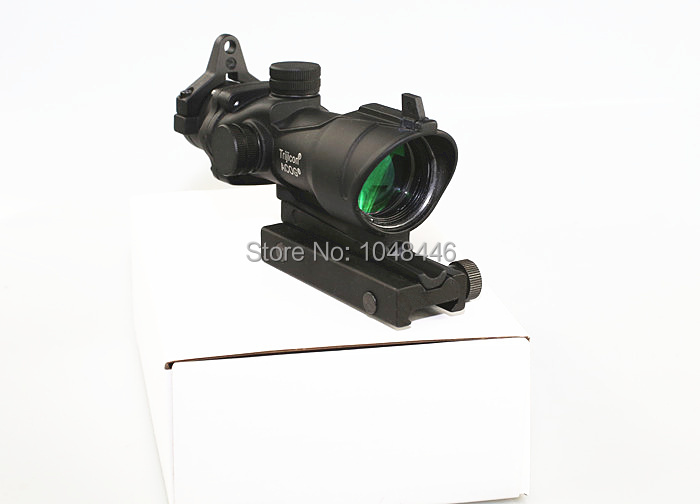 Tactical Hunting Shooting Trijicon ACOG 4X32 Rifle Scope B Paragraph color