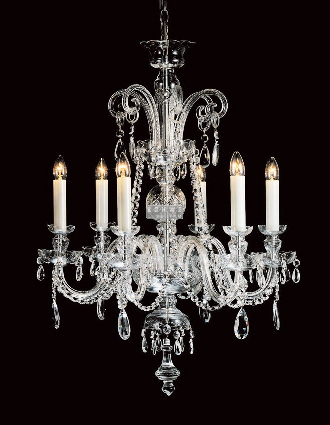 Luxury Foyer Chandeliers : Polished chrome crystal chandeliers lights luxury