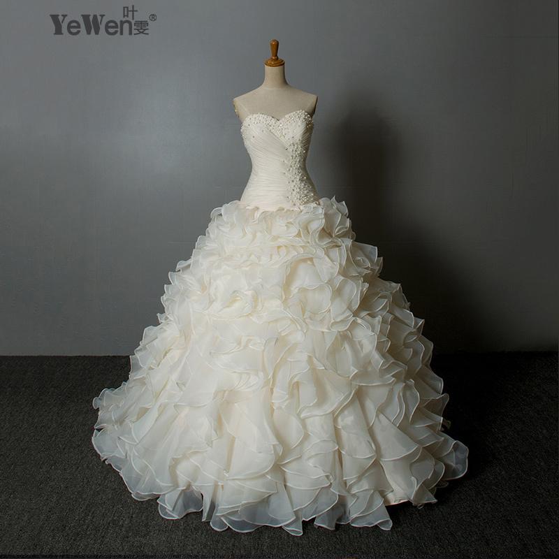 Buy custom made hot sale luxury quality for Wedding dress warehouse sale