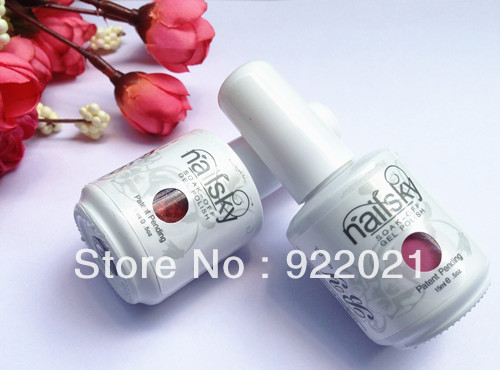 Free shipping,2013 Hot sales100kinds fashion colours shellac nail polish Soak off nail gel polish(China (Mainland))