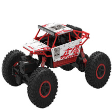 Remote Control RC Cars Remote Control Car Four-Wheel Drive Climbing 2.4GH Charge Sandy Beach Off-Road Vehicle Toy Stunt Vehicle(China (Mainland))