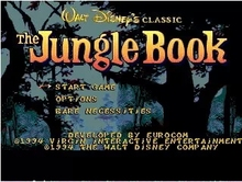Sega 16bit MD games card: The Jungle Book For 16 bit Sega MegaDrive Genesis game console