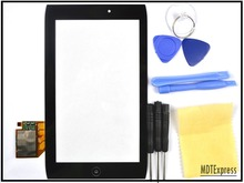 "New! 7"" LCD Front Panel Touch Screen Digitizer Glass Lens Frame Cover with Tools for Acer Iconia A100 A101(China (Mainland))"