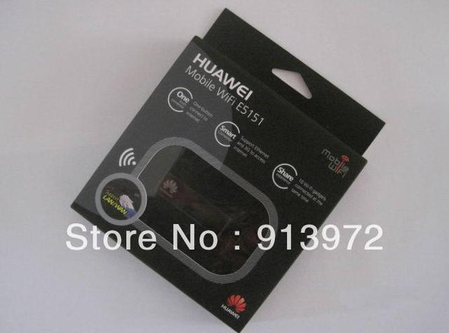 DHL/EMS Free shipping Original Unlocked Huawei E5151 3G wireless Router, pocket WiFi Router, MiFi ,21.6Mbps wholesale