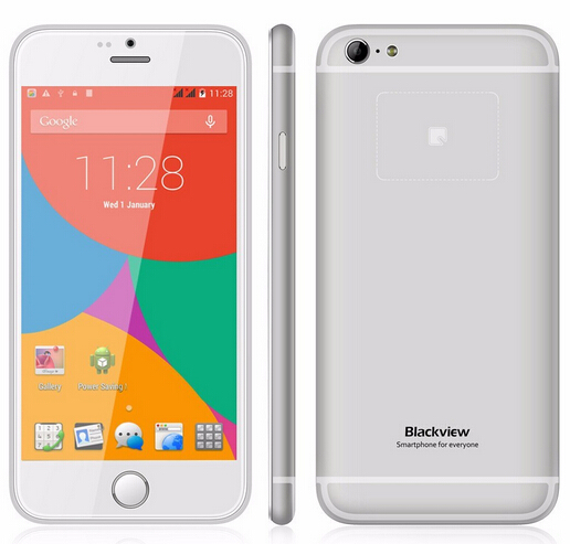 Original Blackview Ultra A6 Back Touch Smartphone MTK6582 Quad Core 4 7 IPS HD Android 4