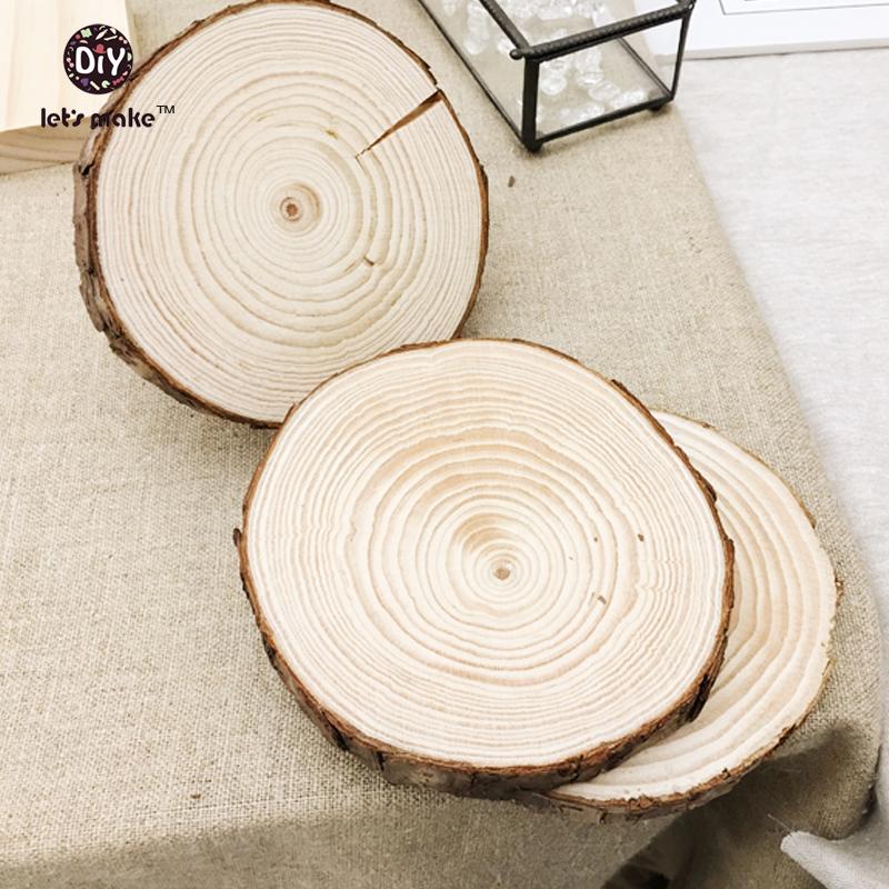 wood craft 100% nature wooden home decor fir slice DIY accessories wall garden decor handmade wood carft cut wood(7-11cm H 10mm)(China (Mainland))