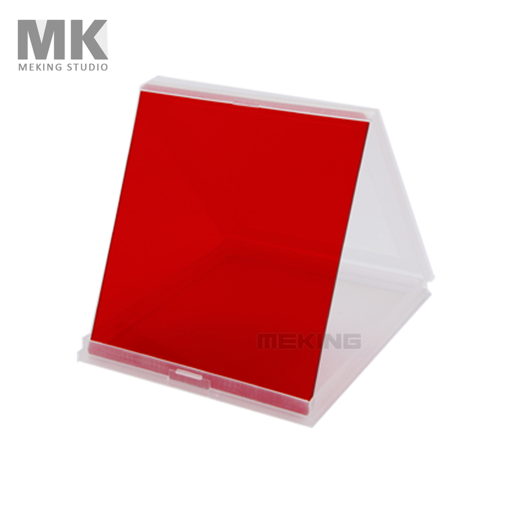 Selens Camera Filters Square Color Filter Full Color Red for Cokin P Series(China (Mainland))