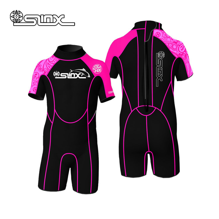 3mm Neoprene Boys Girls Wetsuit Rash Guard Swimming Bathing Suit Surf Wear Diving Clothes For Kids(China (Mainland))