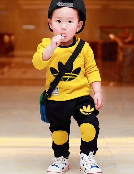 NEW Spring Autumn Leisure KIDS 2y-6y Sport suit set long sleeve children T shirt+kids pants clothing set,2pcs sets free shipping(China (Mainland))