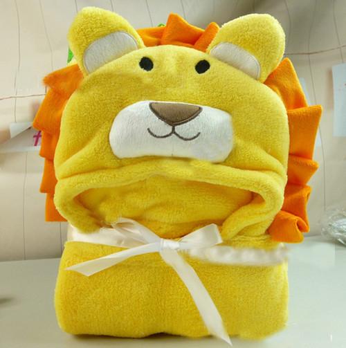 Comprar forma animal mantas de beb beb - Toalla albornoz ...