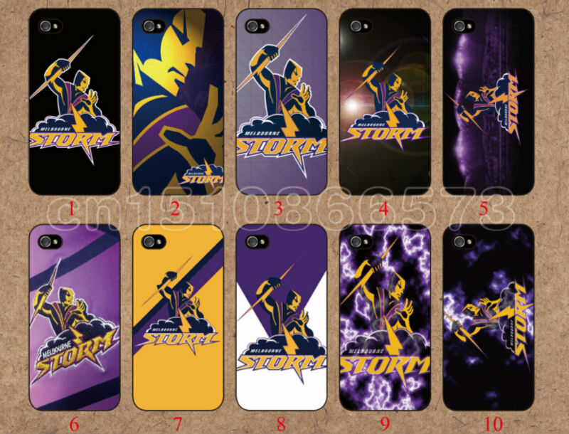 2014 Wholesale 10pcs/lot skin design Melbourne Storm case For iphone 5C cell phone mobile case hard back cover shell(China (Mainland))