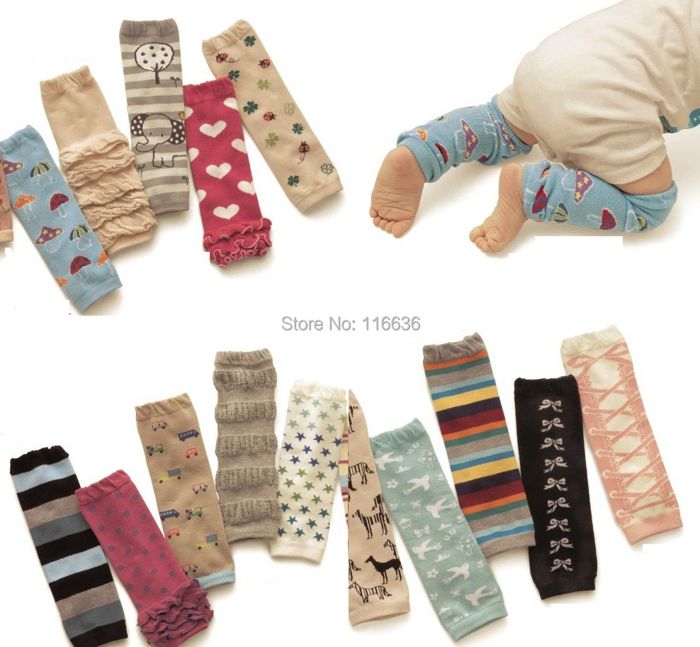 5 pairs LOT new baby cotton leg warmers baby arm warmers spring summer winter 0-8 years old(China (Mainland))