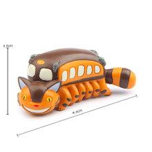 1 ピース/ロット DIY スタジオジブリとなりのトトロフィギュア玩具 PVC 青トトロアクションフィギュアコレクション模型玩具風景ホーム装飾(China)