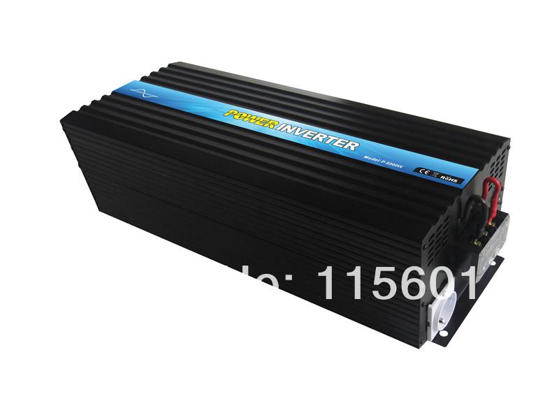 DC 24V to AC 220V 230V 240V Pure Sine Wave 5000W Inverter(China (Mainland))