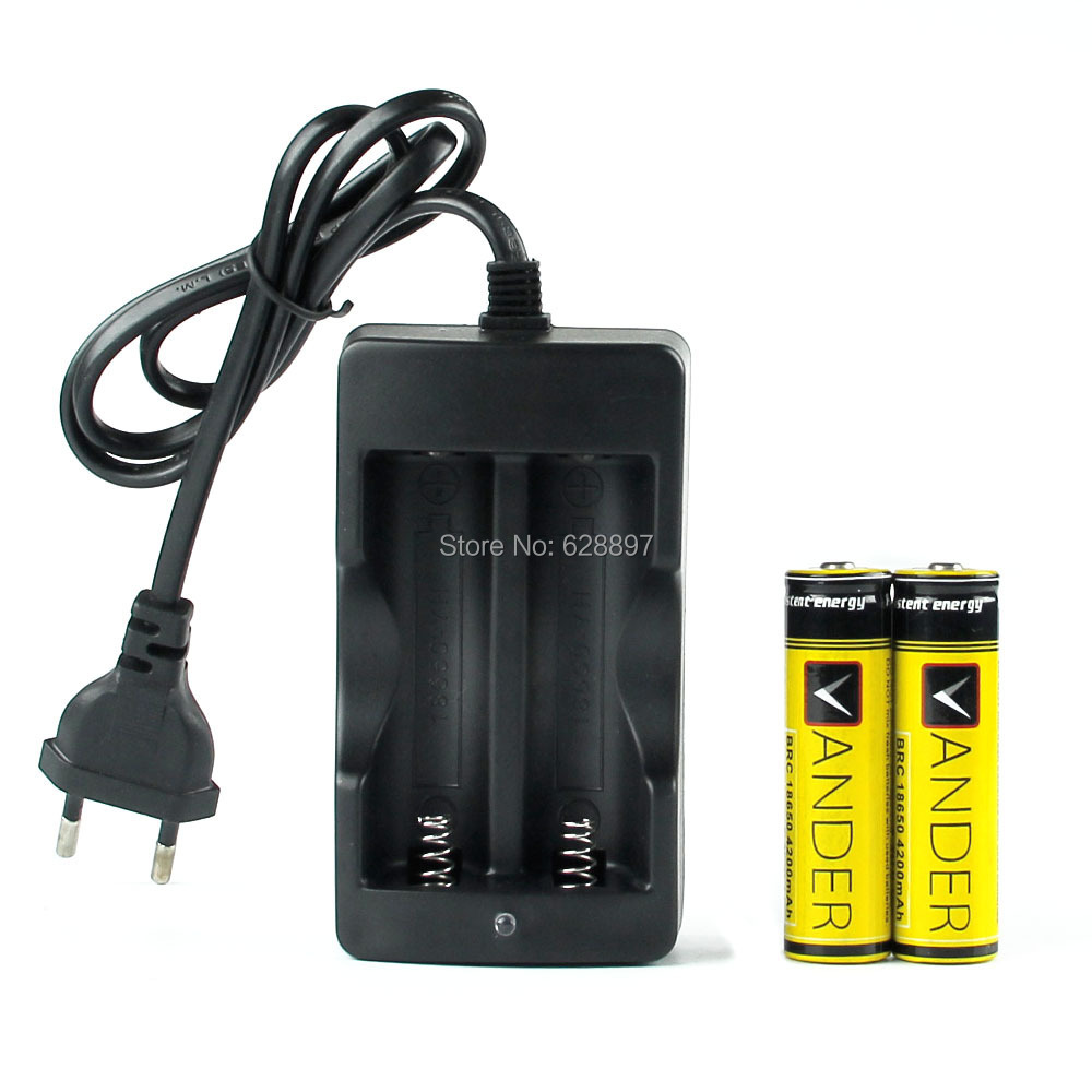 18650 Battery 18650 Charger EU Plug Battery Charger D2 Digcharger For 18650 Rechargeable Li Ion 4200mAh