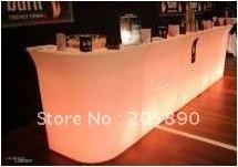 LED lighting furniture Bar barr   1/4Round Bar
